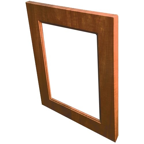 Regal door front open frame