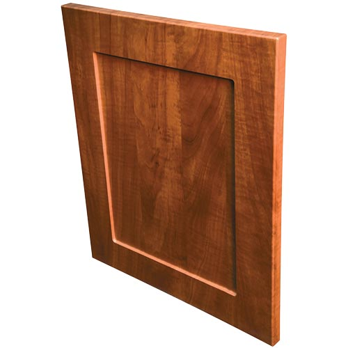 Shaker Mission eased edge laminate door for cabinets or closet drawers