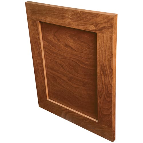 Unity solid wood door for cabinets or drawers