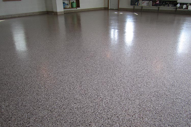Professional Grade Epoxy Garage Floor Coating Adds A Polished Modern Look