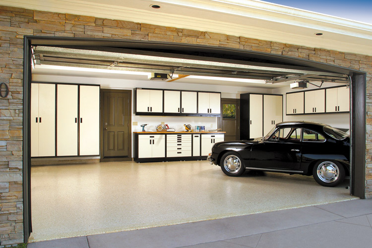 Exceptionnel Custom Garage Cabinet System
