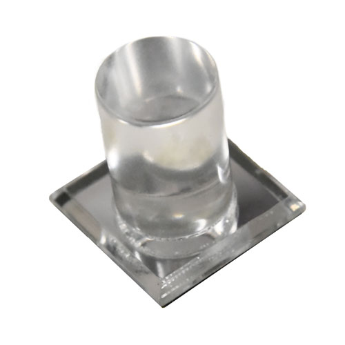 Round Mirrored Acrylic Knob for Glass Doors Part Number 9758