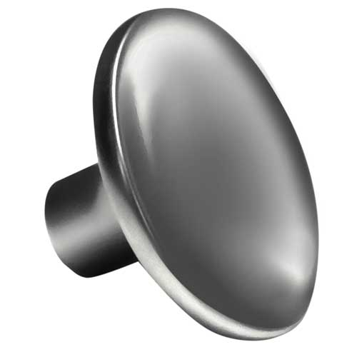 Curved Round Slate Gray Knob Part Number 1195