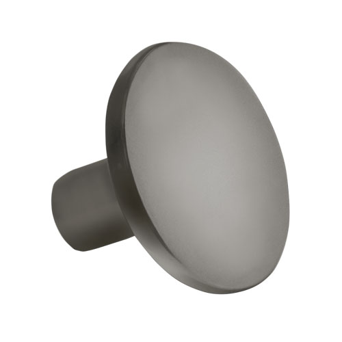 Contempo Round Slate Gray Knob Part Number 1198