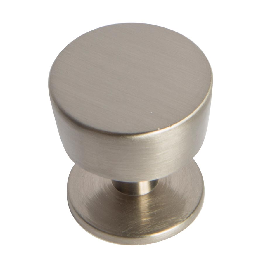 Contempo Brushed Chrome Knob Part Number 1546