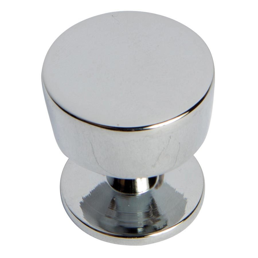 polished chrome contempo knob