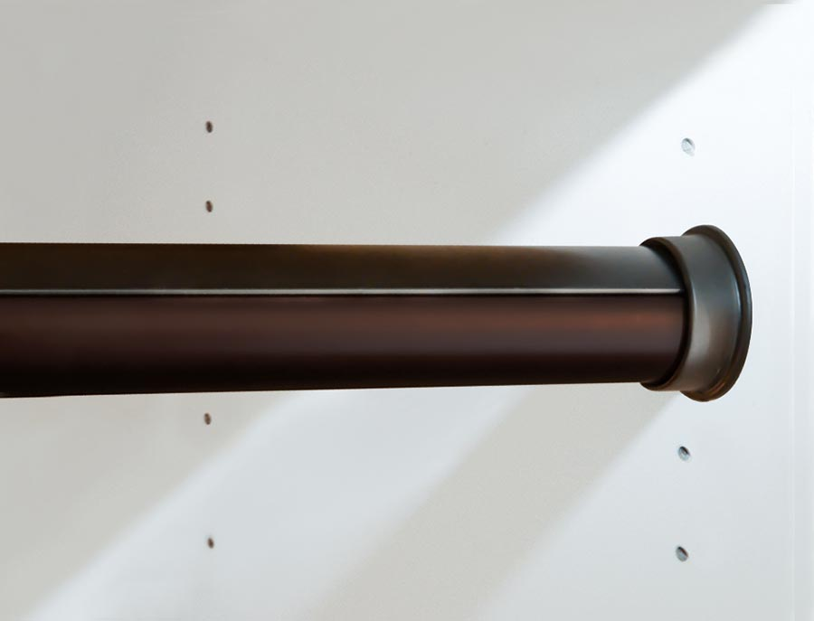 Superieur Oil Rubbed Bronze Round Rod