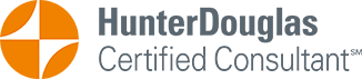 Kelly Fox is certified by Hunter Douglas