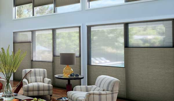 get $100 rebate when you buy 4 Duette honeycomb shades