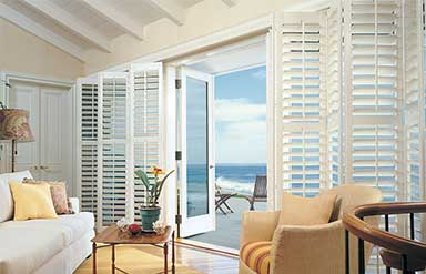 Custom window treatments by Hunter Douglas