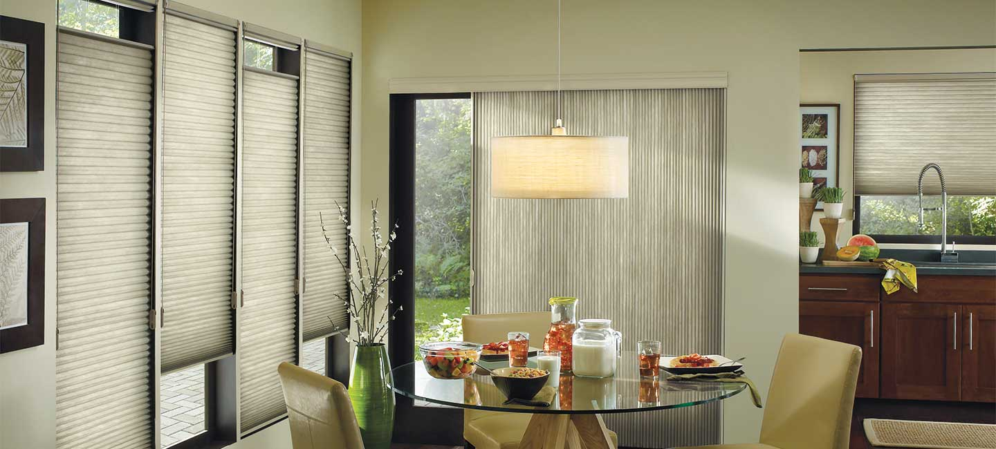 Applause cellular honeycomb shades