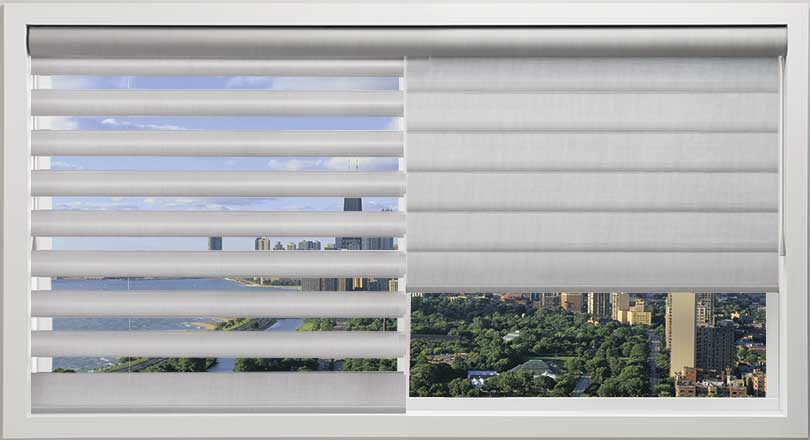 Pirouette shadings by Hunter Douglas