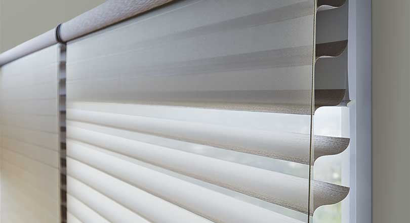 Silhouette Shadings by Hunter Douglas close-up