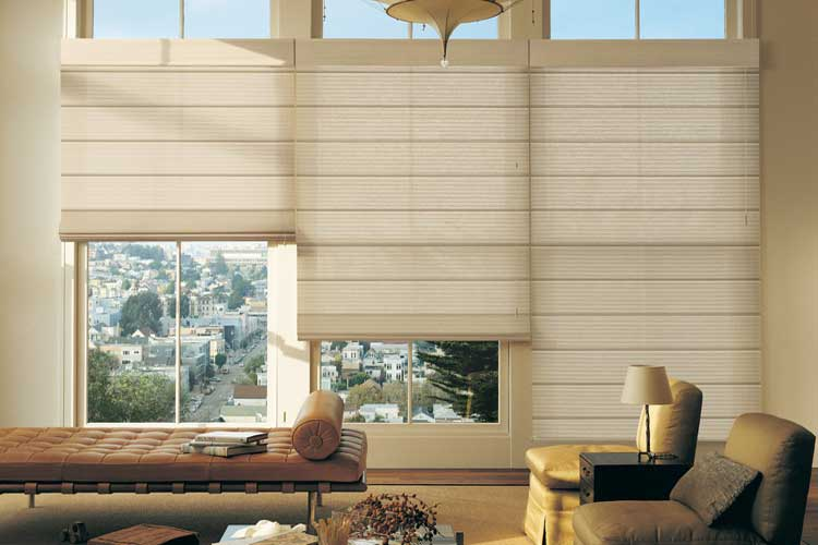 The Alustra premium collection of window treatments