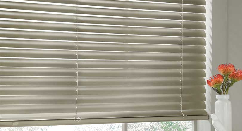 Modern Precious Metals blinds by Hunter Douglas close-up