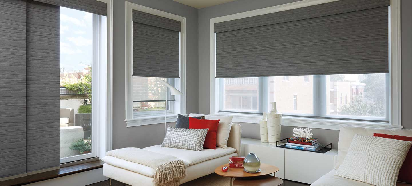 Hunter Douglas Designer Roller Shades for a versatile window treatment