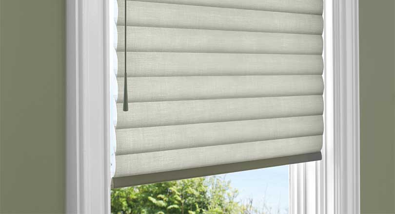 Sonnette Cellular Roller Shades by Hunter Douglas close-up