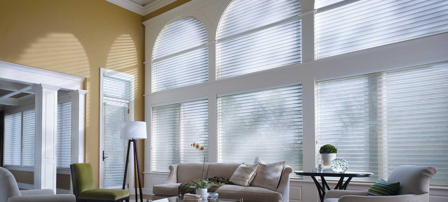 Nantucket Privacy Sheers with UV Protection from Hunter Douglas
