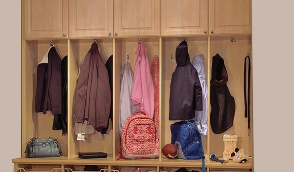 mudroom storage tips