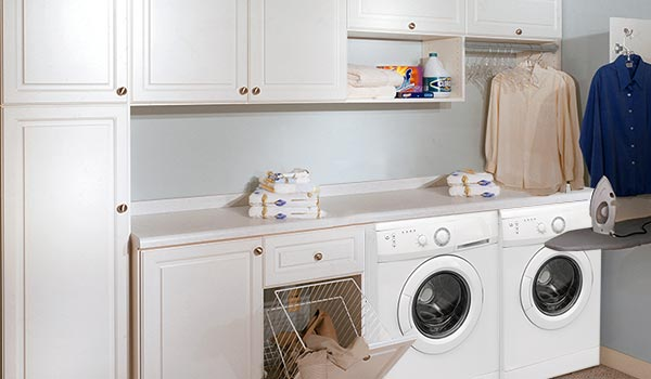 Custom Laundry Room Cabinets And Organization System