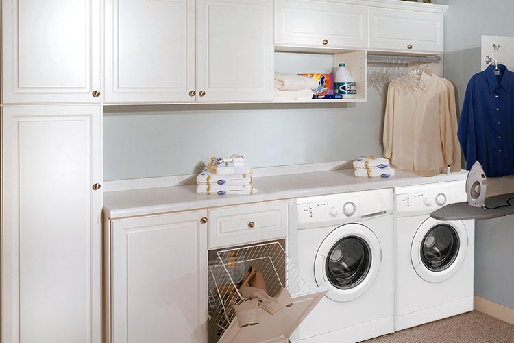 Closet Works Mud Room Laundry Room Storage Solutions Linen Closet