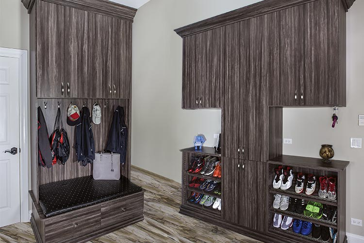 Mudroom Storage Systems : Closet works mudroom and laundry room cabinets storage