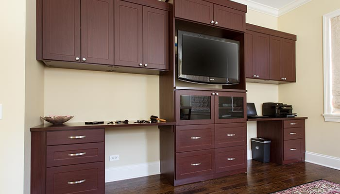 Wall Unit in Cocoa TFL