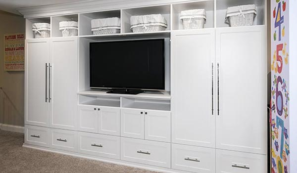 Charming Rec Room Entertainment Center. Bedroom Media Center Wall Unit ...