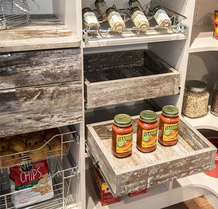 pantry organizers offer optimal storage