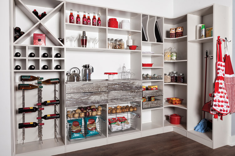Pantry Shelving Systems Industrial Corridor Chicago 60622