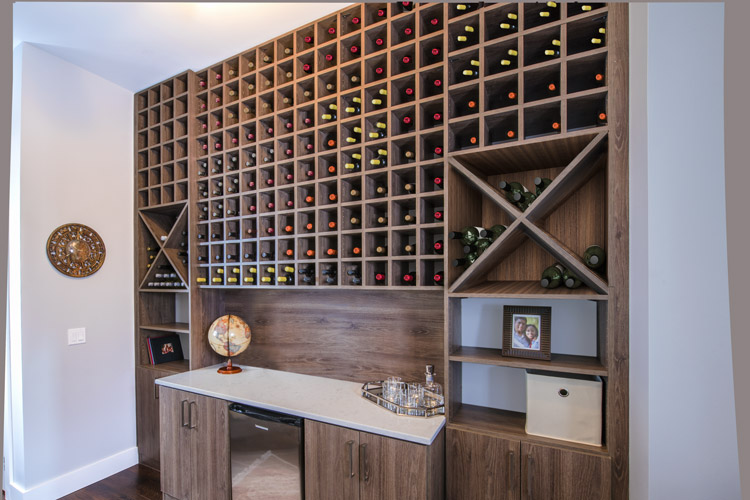 custom wine center
