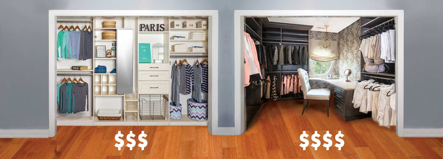 example of higher priced closets