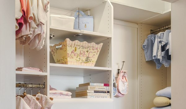custom closet system for a tween for all organizational needs
