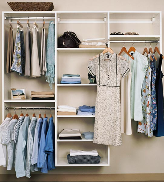 simple closet design and bedroom closet organizers for inexpensive closet systems