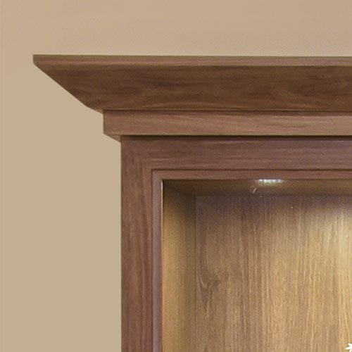 Contemporary Crown Molding Sample Photo