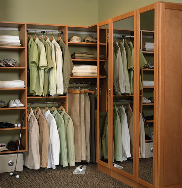 walk-in closet closet mirrors