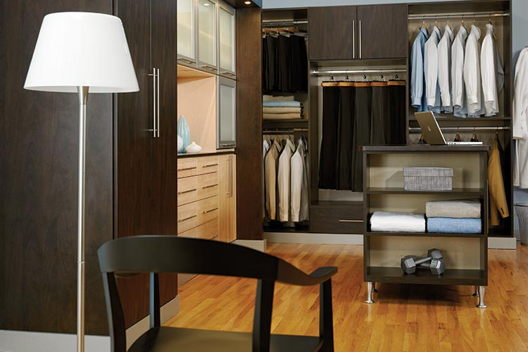 Chicago walk in closet systems
