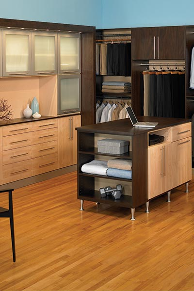 Mid Century Modern Cabinets And Dressing Room Organization