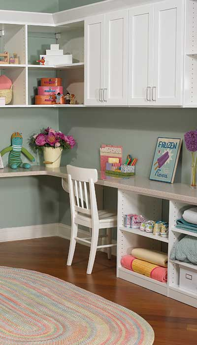 kids room storage ideas for a young girl