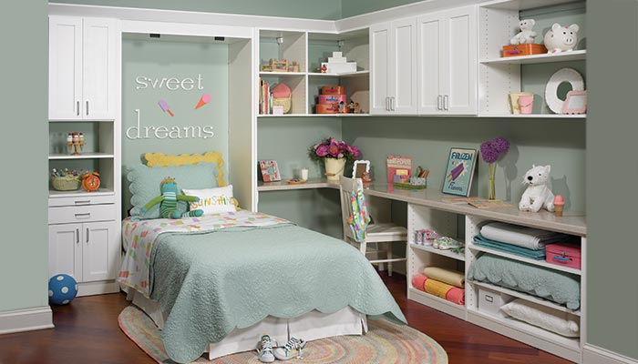 hidden beds for small spaces in child's room