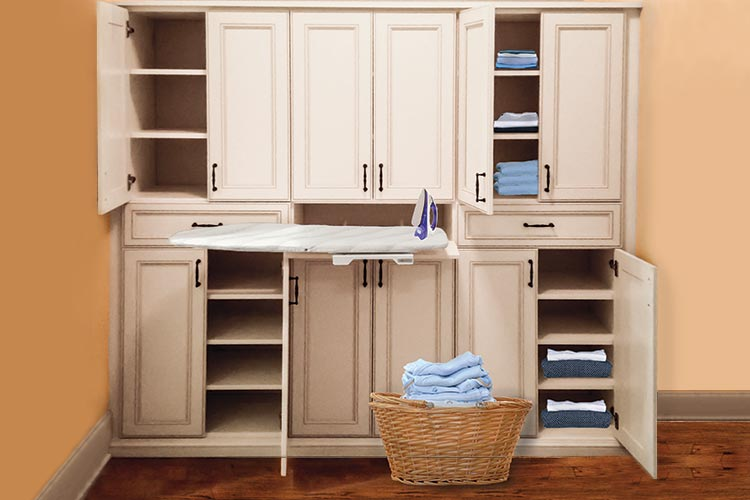 wardrobes design for linens, ironing and laundry wardrobe closets